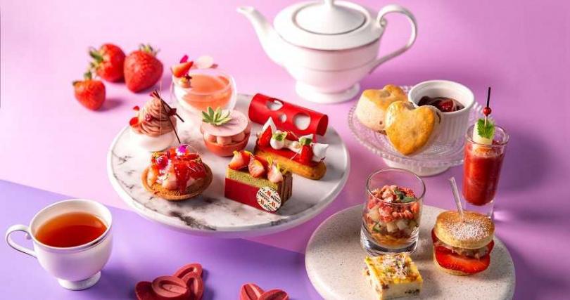 莓好時光下午茶_LobbyLounge_台北萬豪酒店。