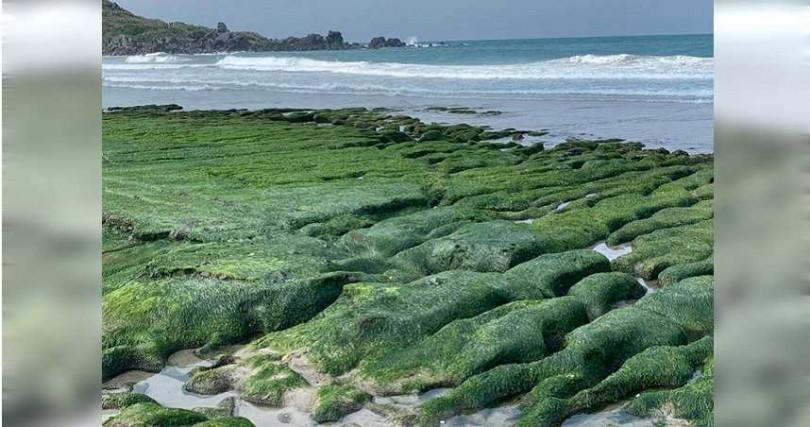 老梅綠石槽是北海岸特殊景觀,更曾被CNN票選為台灣8大秘境。(圖/翻攝畫面)