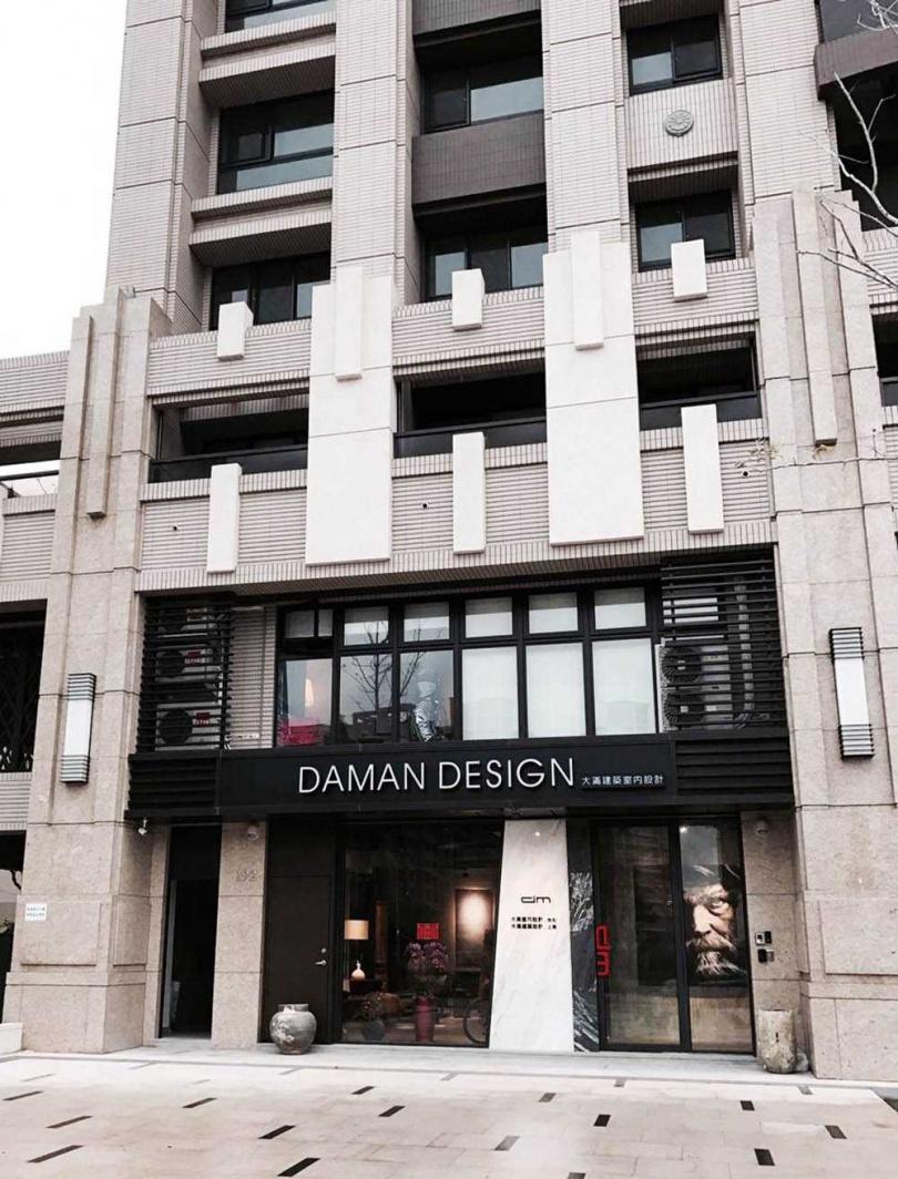 位於桃園市青埔的大滿室內設計,辦公室有2層樓,1樓供開會用,2樓則是辦公空間。(圖/大滿室內設計提供)