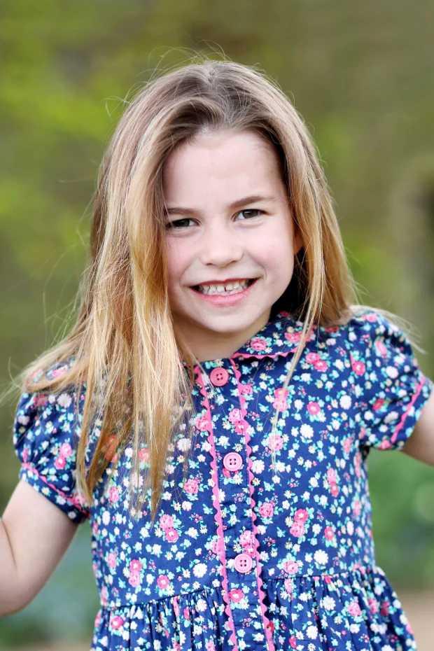夏綠蒂公主,2日歡度6歲生日。(圖/翻攝自The Royal Family臉書)