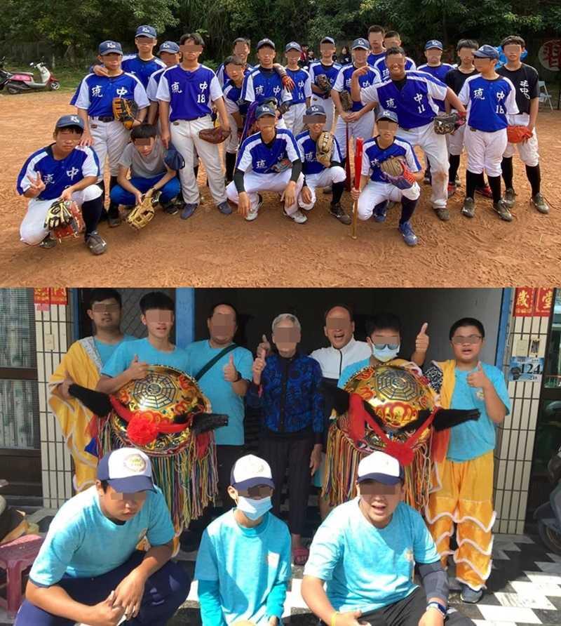 外傳蘇傳桔以出賽資格威脅壘球隊的學生,必須練習舞龍舞獅,過年時還要求學生們全島走春表演。(圖/讀者提供)