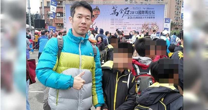 劉員池職掌學務處主任才1年,就有4名學生指控受到他的暴力管教。(圖/翻攝畫面)