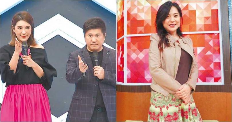 小禎在半年內連失去兩個節目主持,其中一個節目,被張鳳書取代。(圖/報系資料照片)