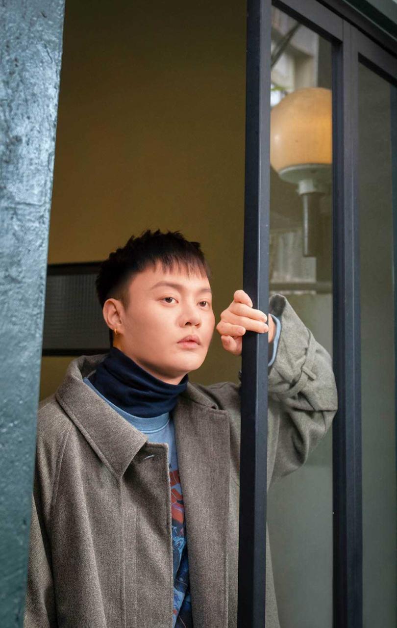 大年初九許富凱將在台北小巨蛋開唱,他表示早已為寇桑留好了位子。(攝影/林勝發)