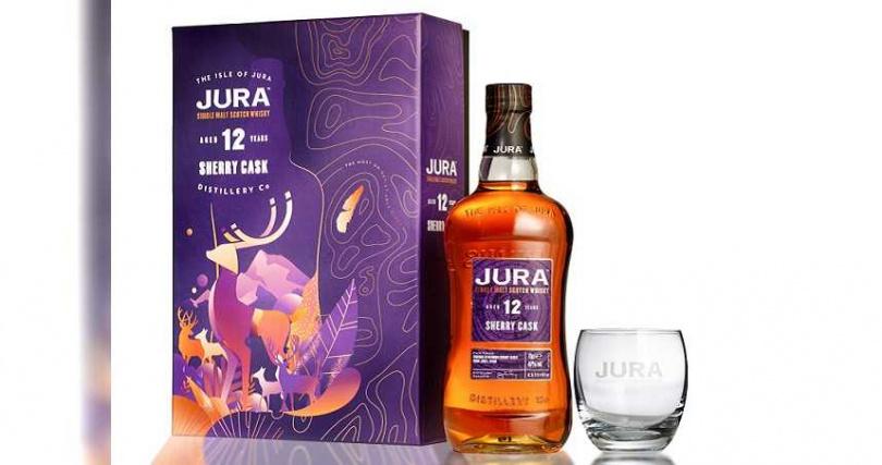 吉拉雪莉12年單一麥芽蘇格蘭威士忌非凡禮盒。
