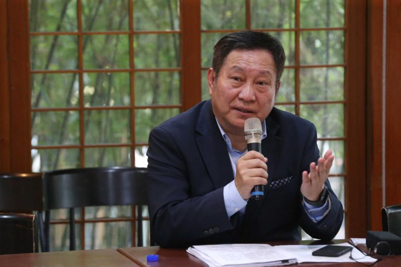 南港輪胎副董事長、泰豐董事趙國帥。(圖/趙世勳攝)
