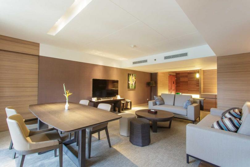 帛琉老爺大酒店的「老爺套房Royal Suite」房型。(圖/KKday提供)
