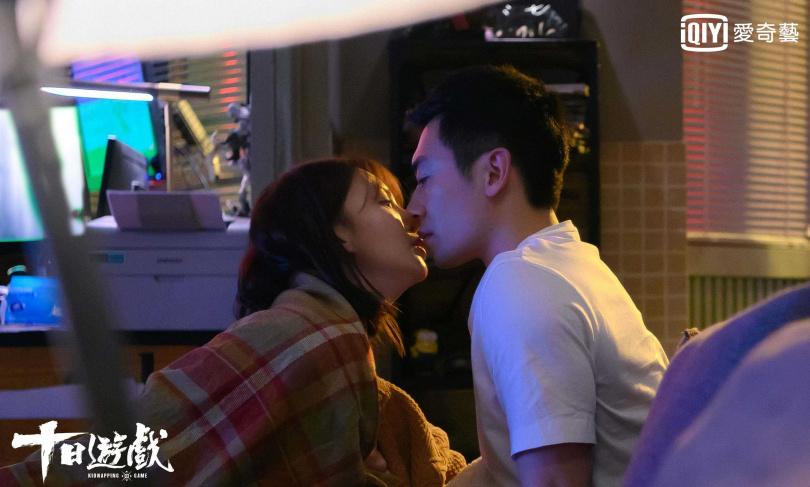 朱亞文、金晨劇中兩人聯手企劃假綁架案日漸生情。(圖/愛奇藝台灣站提供)