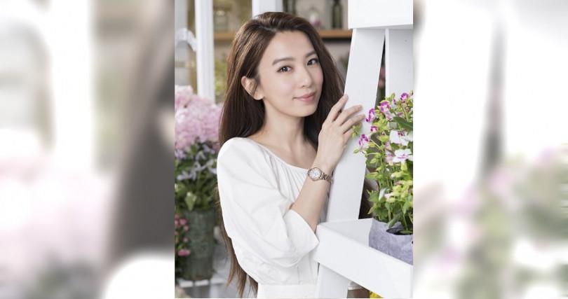 擔代星辰錶形象代言人的Hebe田馥甄,積極的工作與生活態度一直是許多女性心目中的理想模範。(圖/星辰表)