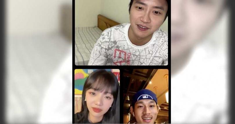 《全明星運動會2》因疫情暫停錄影,江宏傑(上)近日常在網路上與粉絲們互動。(圖/華研提供)