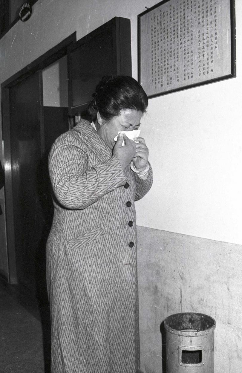 江子翠分屍案受害人張明鳳家人。
