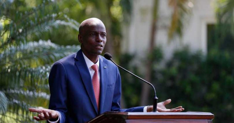 海地總統摩依士。(圖/達志/美聯社)