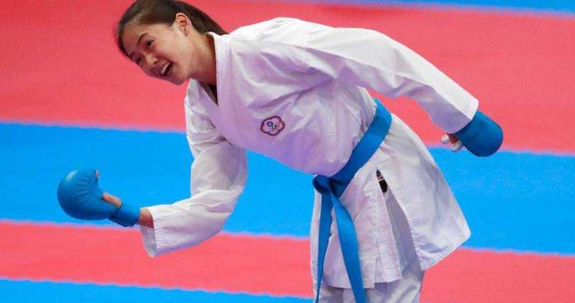 文姿云在東京奧運獲得銅牌。(圖/達志/美聯社)
