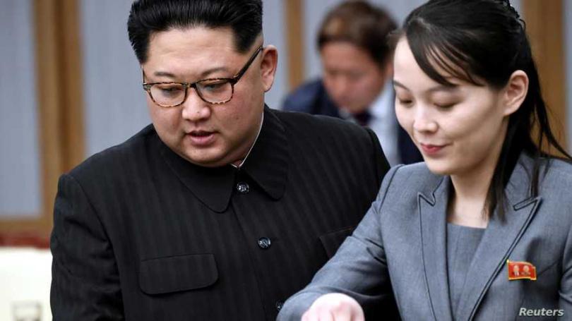 金與正日前頻頻嗆聲南韓,甚至大動作炸毀位於開成工業區的兩韓聯辦,但卻被金正恩喊停。(圖/Reuters)