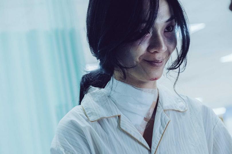 陳雪甄入魔怪笑猙獰駭人。