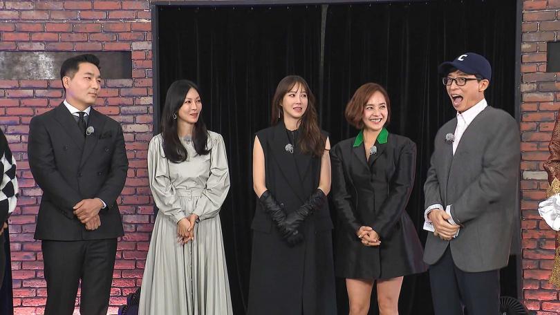 上流戰爭演員初登韓國節目《Running Man》。