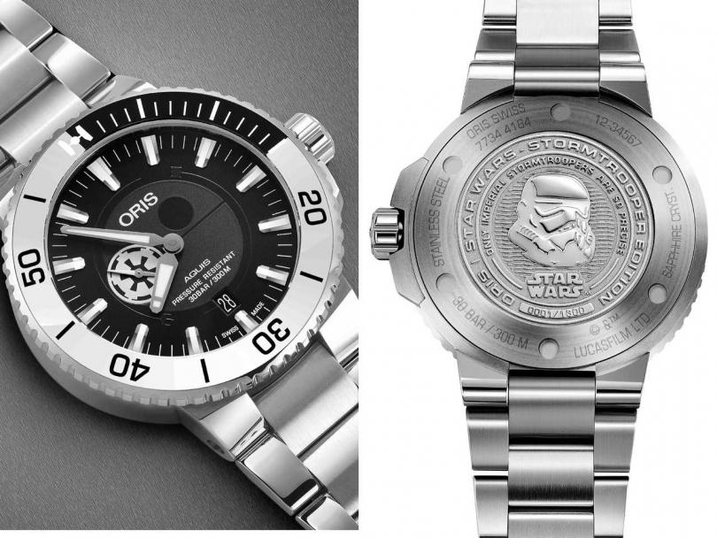 ORIS「STORMTROOPER風暴兵」星際大戰限量錶╱75,000元(圖╱ORIS提供)