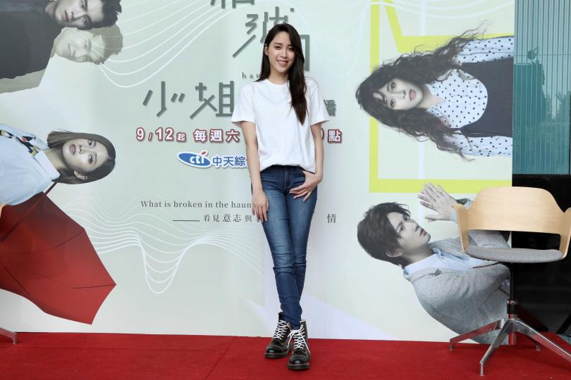 歐陽妮妮首挑大樑演出新戲《腦波小姐》。(攝影/彭子桓)