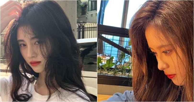 鄧歆玥(右)看起來像是鞠婧禕(左)的分身,讓大批網友陷入臉盲。(翻攝自微博)
