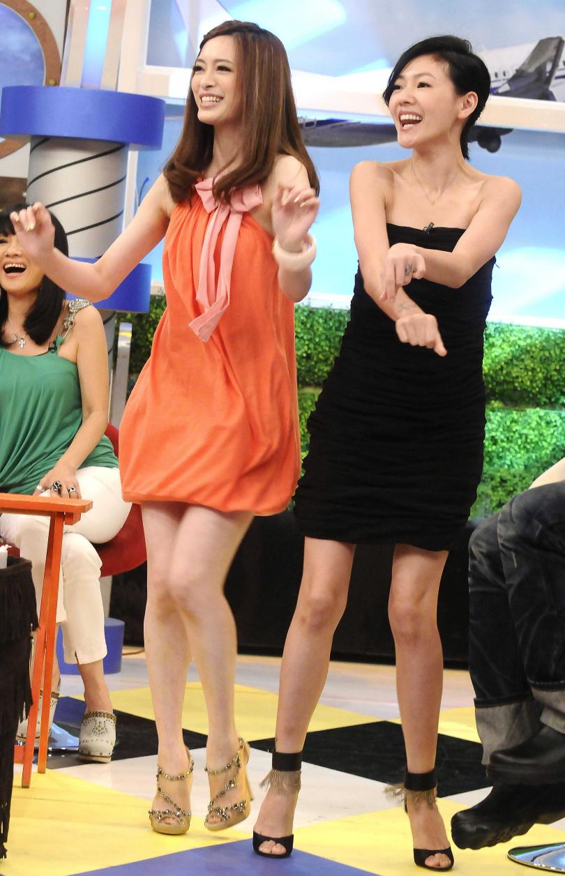 劉真和小S在《康熙來了》節目中的精彩互動,迄今讓人印象深刻。(圖/資料照)