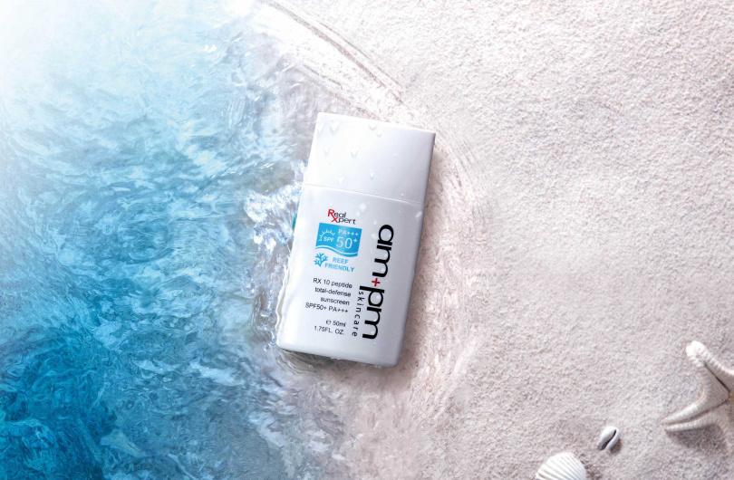 ampm skincare RX10胜肽極效防曬液SPF50+ PA+++ 50ml/650元