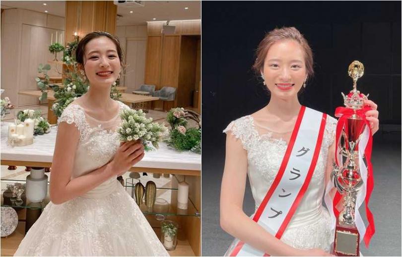 就讀東京大學的神谷明采,獲選今年日本最美女大生。(圖/翻攝神谷明采推特,石原聰美IG)