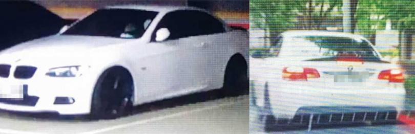 小刀的座車多日出現在位於台北市內湖區的正妹住家停車場內或門外,但他的公司和自宅都不在該處。(圖/讀者提供)