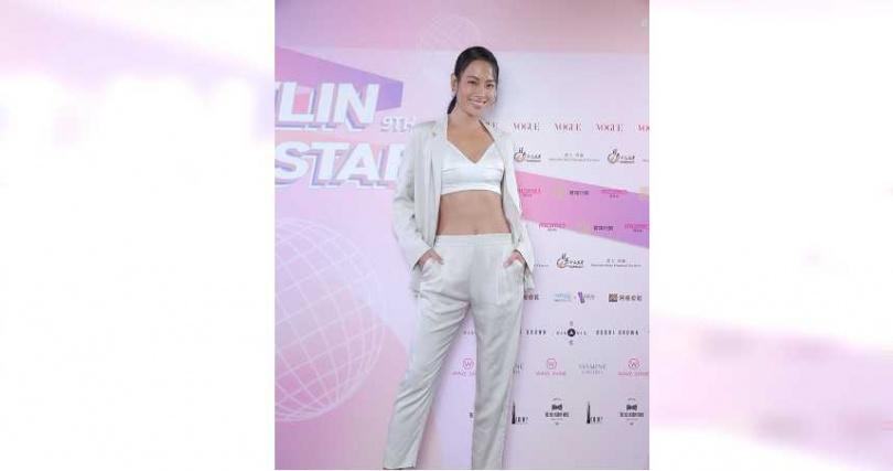運動名模王麗雅曾擔任璀璨之星海選評審。(圖/伊林娛樂提供)
