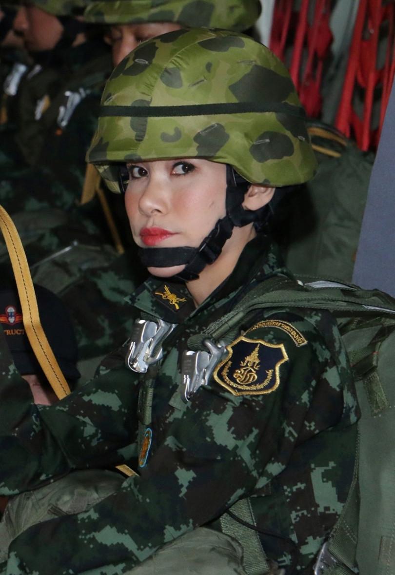 泰國王室宣布,剝奪詩妮娜王妃所有頭銜。(圖/路透社)