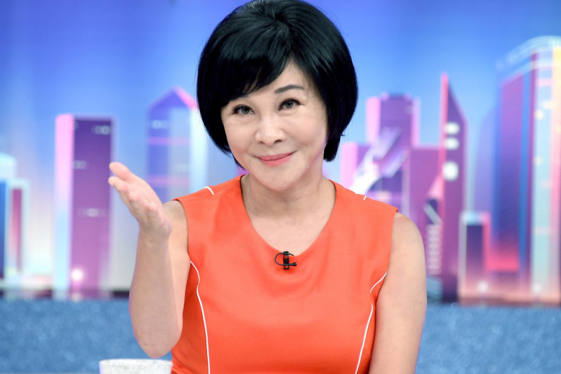 吳淡如曾與一同主持《今晚誰當家》的搭擋謝震武傳不合。(圖/華視提供)