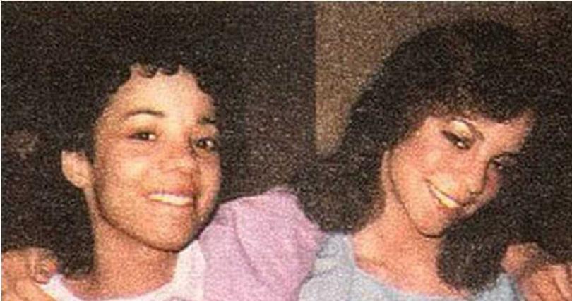 瑪麗亞凱莉和愛莉森凱莉年輕時合照。(圖/FB)
