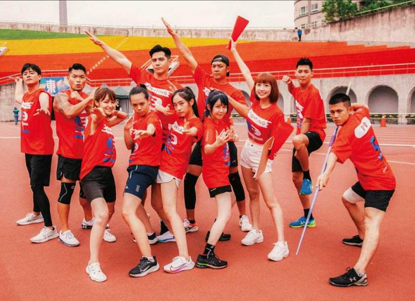 劉芳芸在《全明星運動會》表現亮眼,更以短跑100公尺15.99秒的成績獲封「短跑女王」。(圖/翻攝自劉芳芸IG)