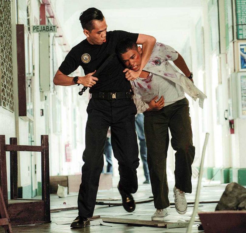 講述馬來西亞校園霸凌事件的《你是豬》,慘遭該國禁演。(圖/華映娛樂提供)