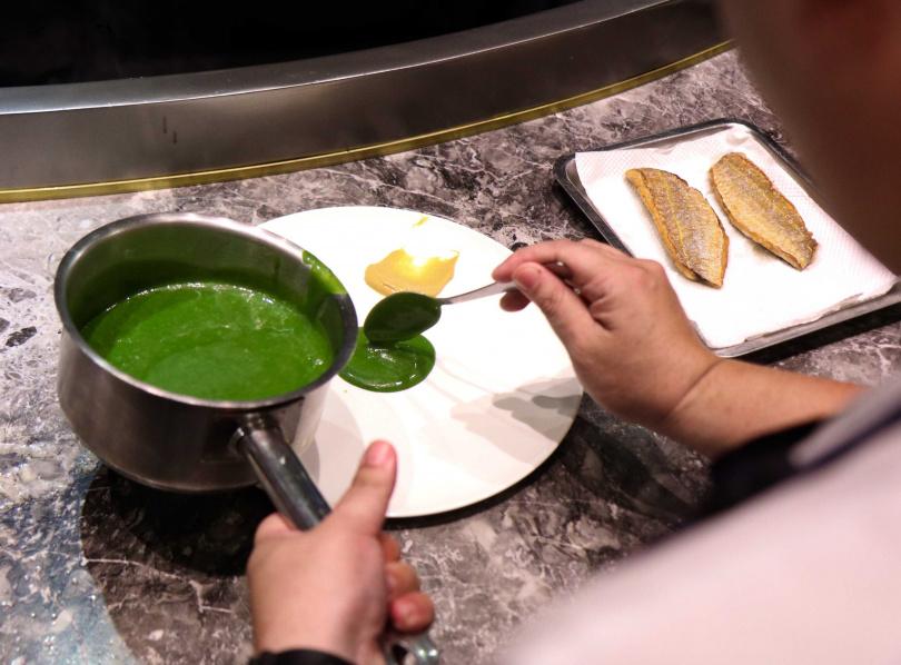 綠色法國奶油醬要用好的法國奶油 照片提供:法國食品協會