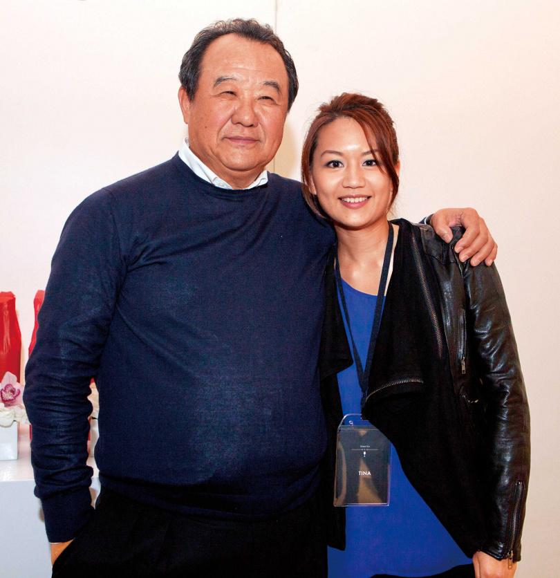 台玻總裁林伯實相當保護孩子,二女兒林文晴27歲時才在媒體前曝光。(圖/報系資料庫)