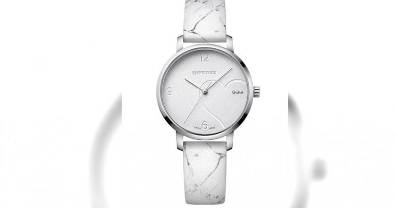 WENGERMetropolitan Donnissima錶殼:不鏽鋼材質/錶徑:38mm機芯:Ronda石英功能:大三針防水:100米定價:7,060元