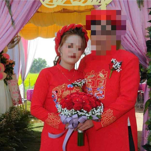 男子娶越南新娘。(圖/翻攝自爆怨公社)