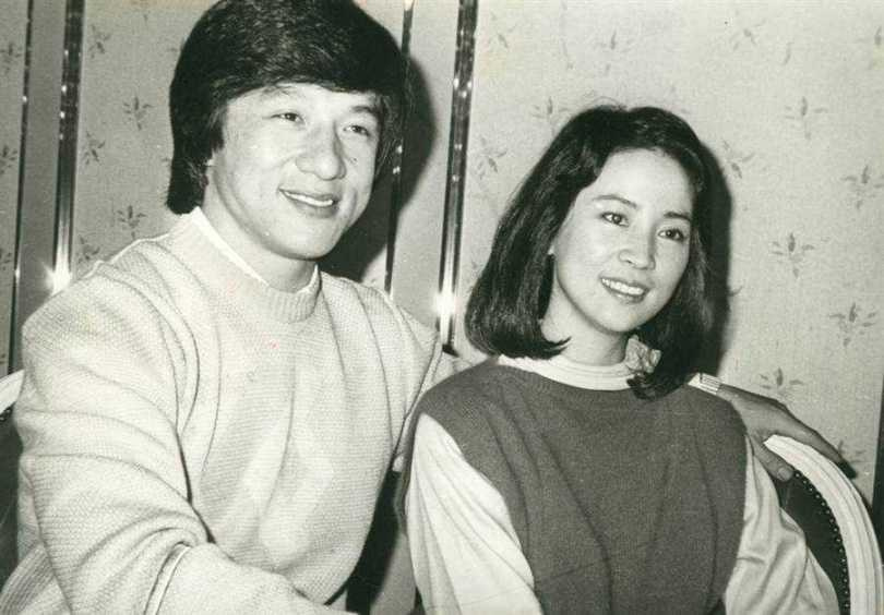 林鳳嬌和成龍結婚39年。(圖/報系資料照)