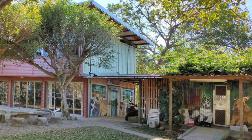 空間寬闊的「美好農場生態園區」,是親近大自然的好地方。(圖/美好農場生態園區提供)