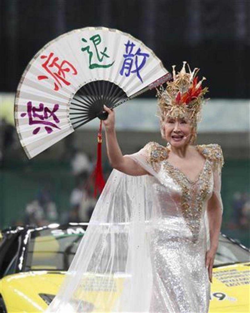 小林幸子17日任日職棒「台灣DAY」開球式嘉賓。(圖/翻攝自Yahoo!Japan)