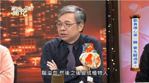 醫師洪惠風認為,病患一但出現腦溢血,換心的機率就變很低。 (圖/翻攝自YouTube)