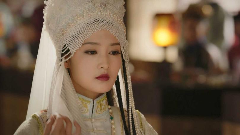 《如懿傳》是演員李沁的首部清宮劇,加上這角色被設定是「後宮最美」,無形中壓力很大。