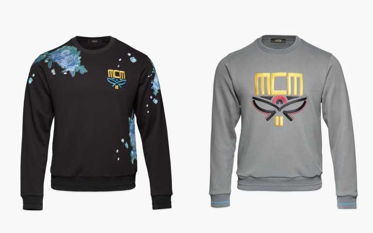 團員身穿MCM服裝。(圖片/MCM提供)