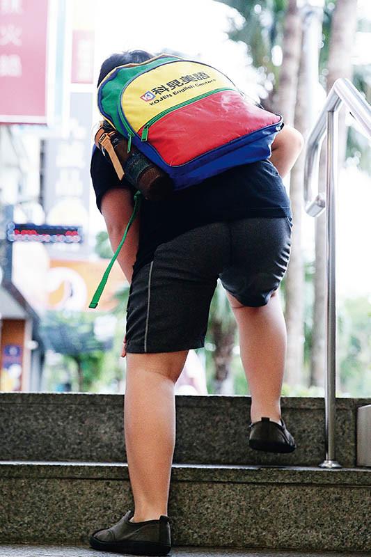 .肥胖是退化性關節炎年輕化的原因之一。(圖/報系資料庫)