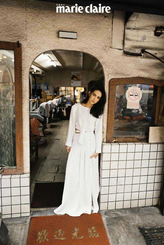 昆凌為雜誌拍攝封面並受訪。(圖/Marie Claire美麗佳人提供)