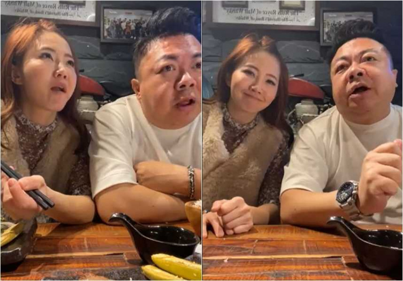 董至成與謝忻是昔日主持節目的戰友,兩人一起開直播暢聊,回憶往事。(圖/翻攝謝忻臉書)