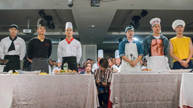 《美味滿閣》將於明(6)日晚間首播。首集就上演一場大型廚藝比賽。(圖/中視提供)