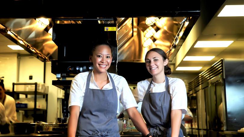 ▲秋宴雙廚,左:Aisha Ibrahim。右:Samantha Beaird。(圖/Chefs Club Taipei)