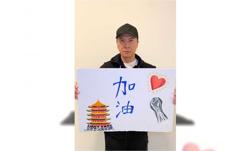 甄子丹捐將近390萬台幣給武漢第一線醫務人員。(圖/人人娛樂提供)