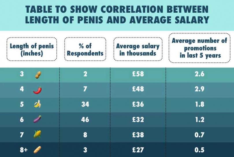 調查顯示3英寸陰莖的人,每年平均賺58000英鎊。(圖/翻攝自OnBuy.com)